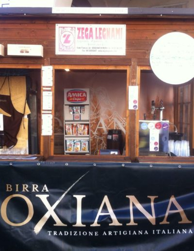 Oxiana beer stand
